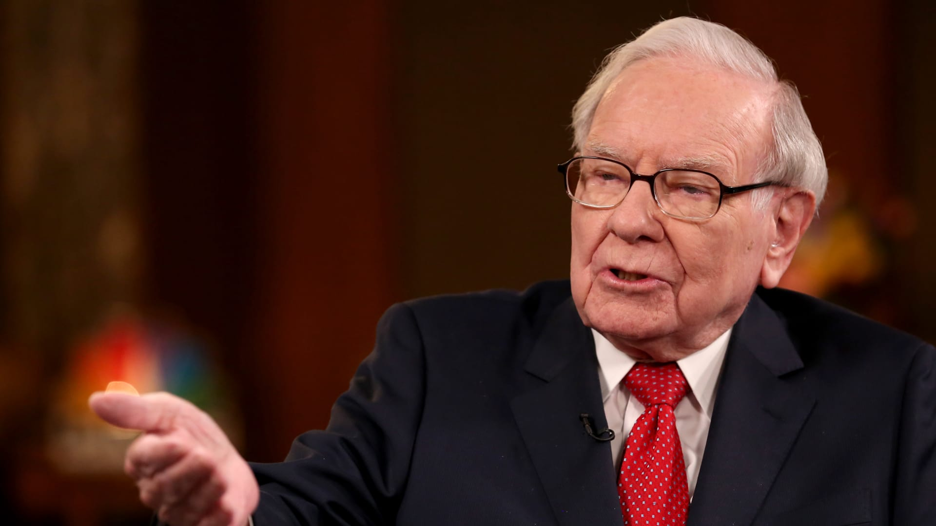 Warren Buffett during an interview with CNBC's Becky Quick on February 24, 2020. It turned out to be another year during which the billionaire investor shied away from game-changing acquisitions.