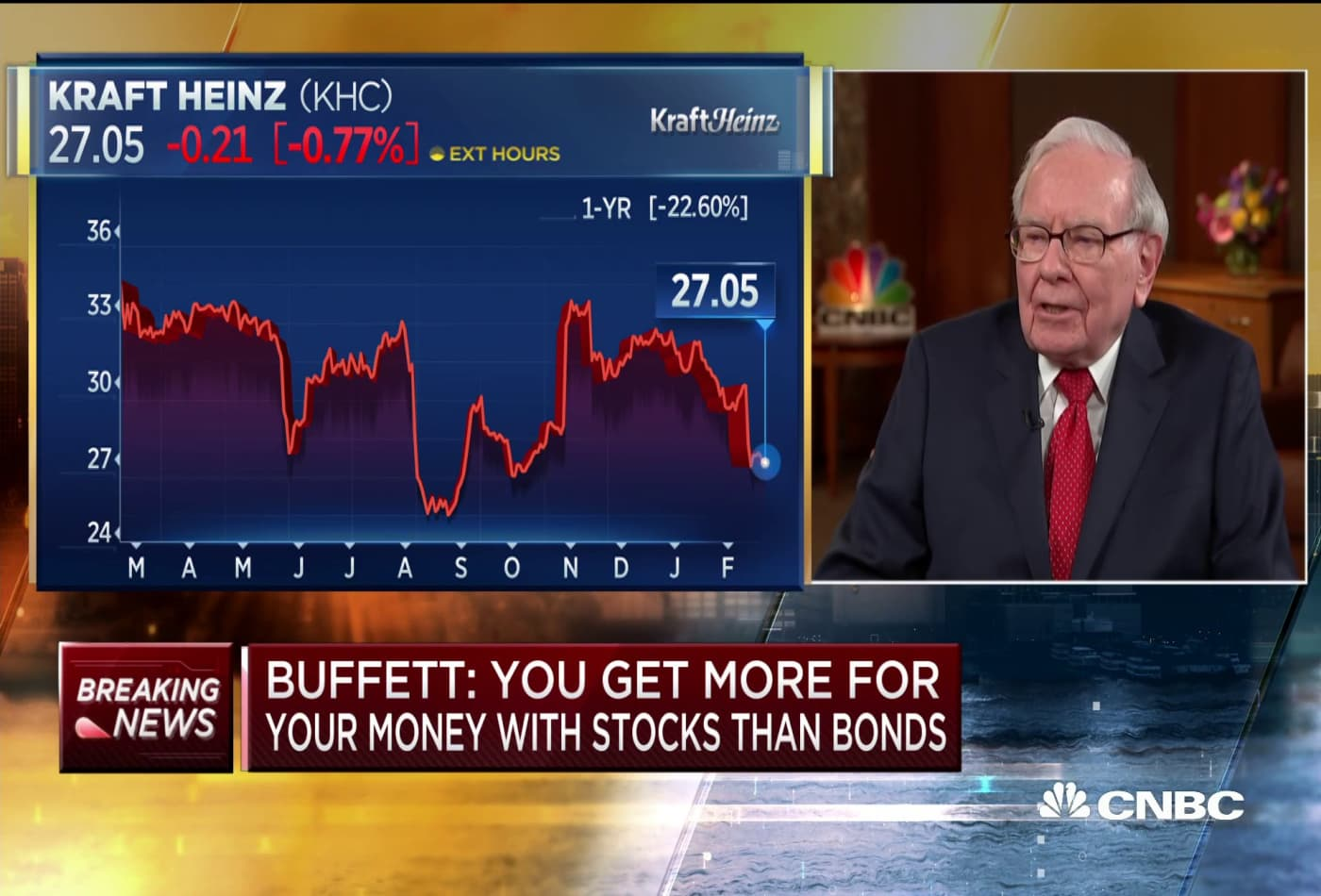 Warren Buffett: 'Kraft Heinz should pay down its debt'