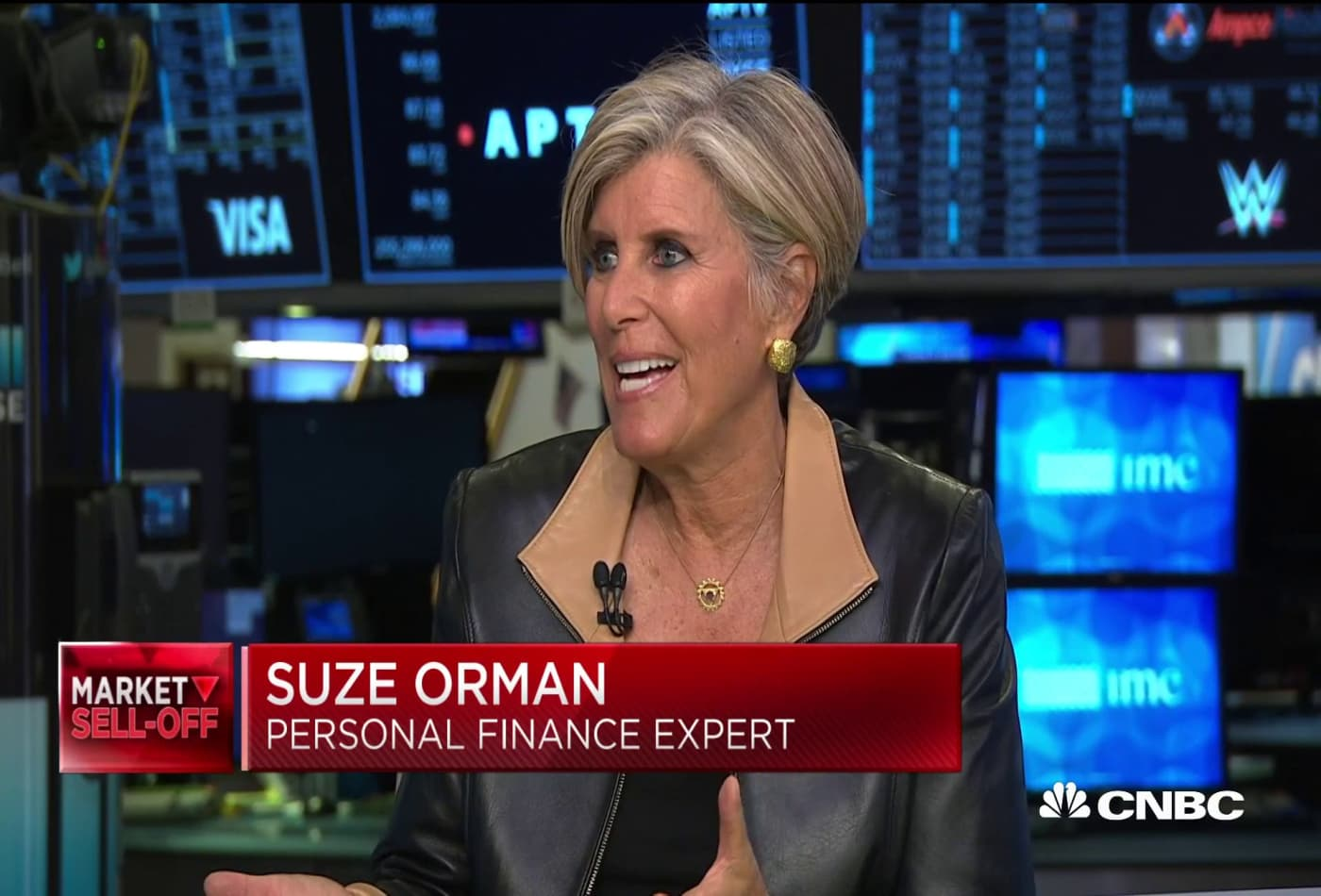 People should 'rejoice' at the Dow dip, says Suze Orman