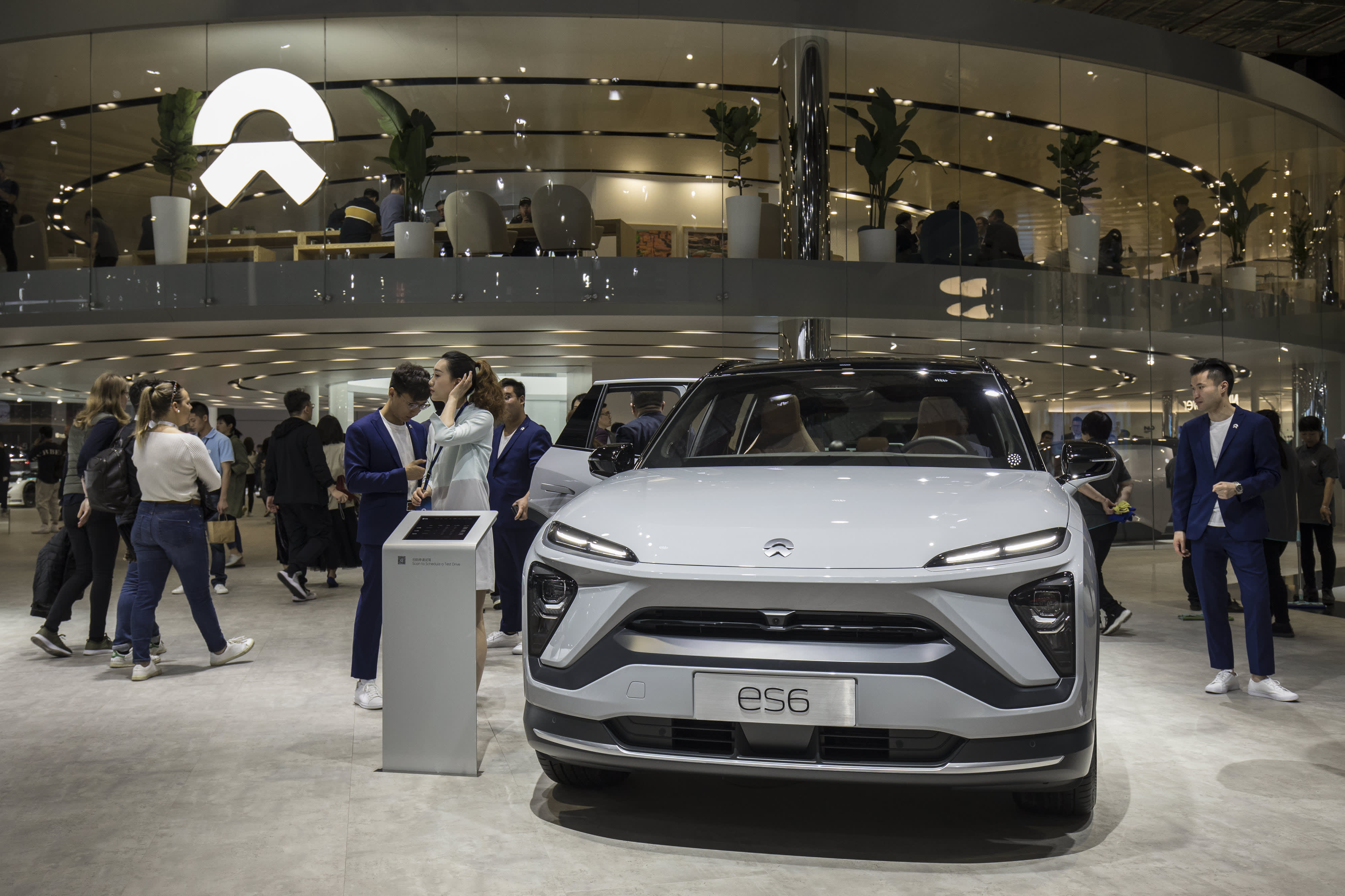 China's battered Tesla rival Nio brushes off coronavirus impact