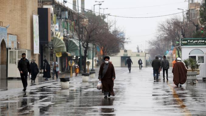 GP: Coronavirus precautions in Iran's Qom 200225 EU