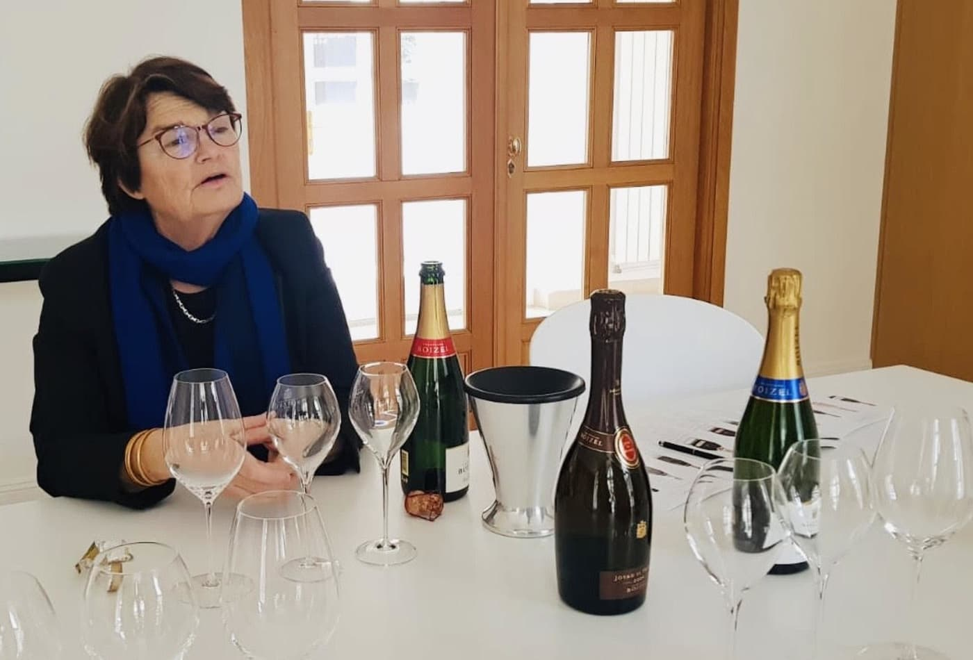 Champagne producers worry coronavirus will close promising Asian markets