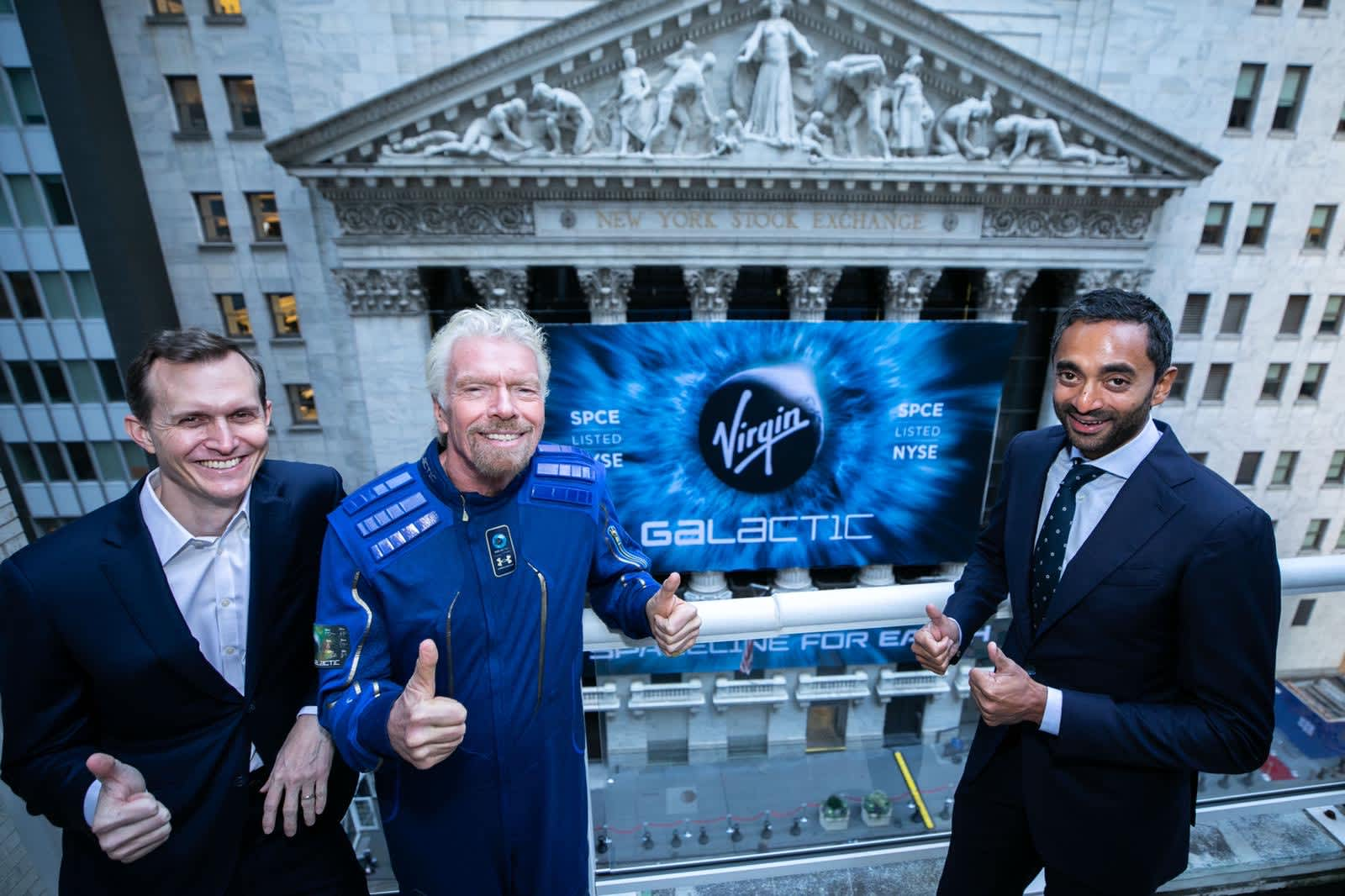 Photo of Virgin Galactic drops 10% after chairman Chamath Palihapitiya dumps his $213 million personal stake | CNBC