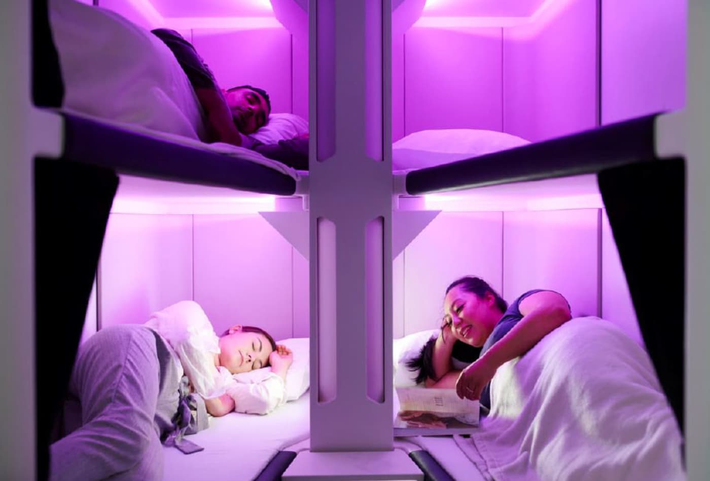 Bunk beds in coach? It may be here sooner than you think