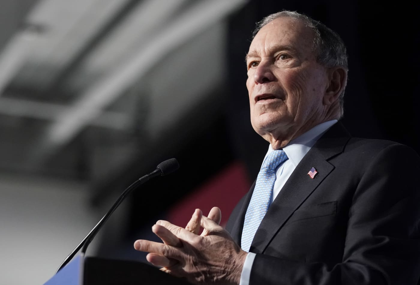 Mike Bloomberg's momentum stalls in presidential polls ahead of Super Tuesday vote