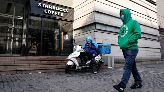 RT: Coronavirus, China Starbucks 200207
