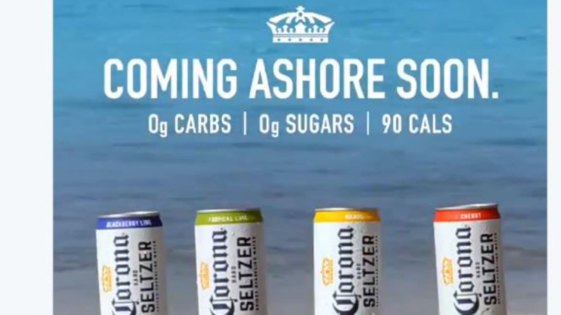 Corona's ad 'Coming Ashore Soon.'