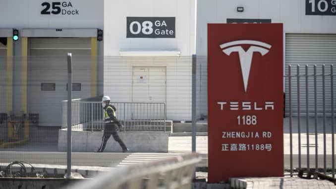 GP: Coronavirus: Tesla Shanghai