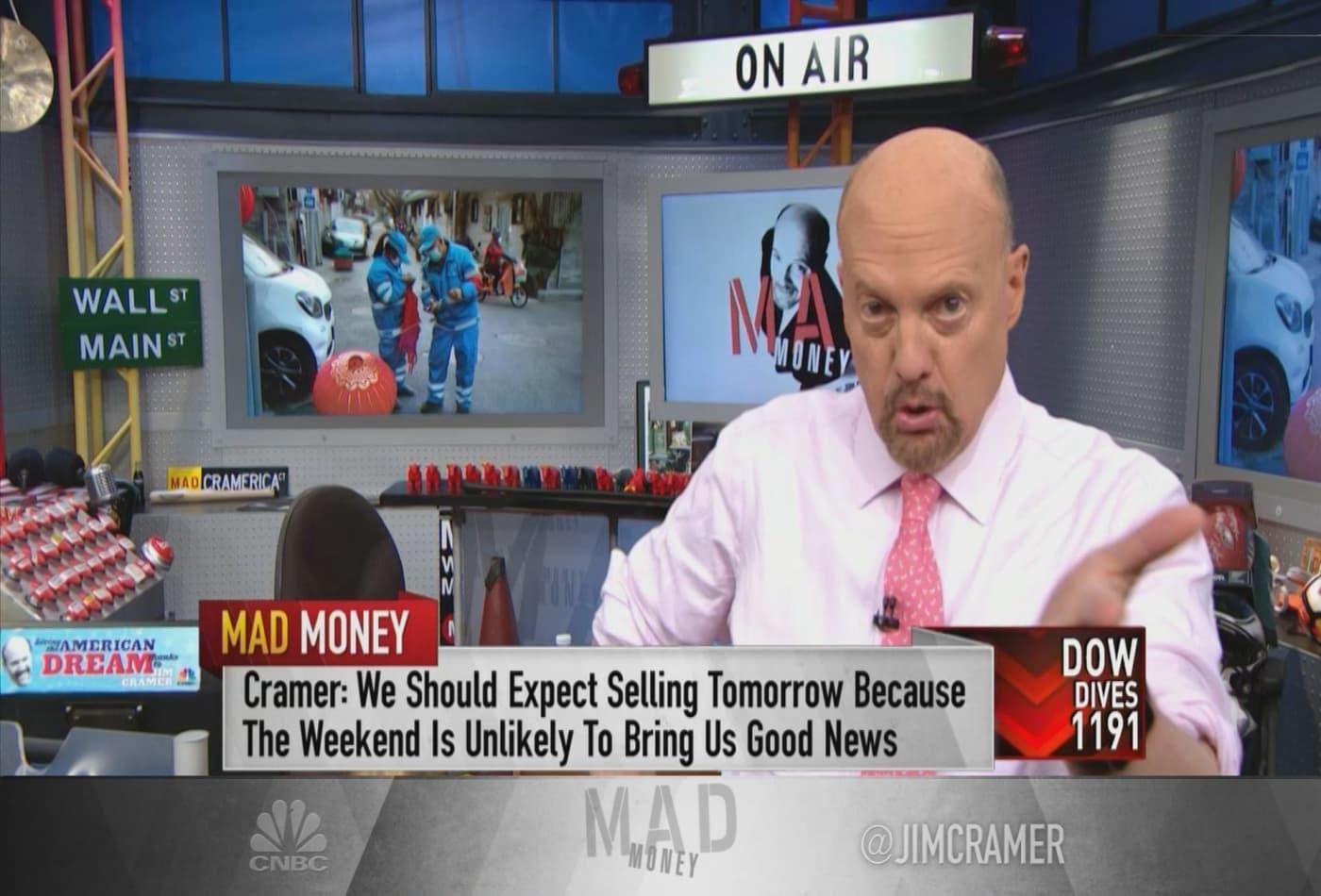 Jim Cramer: 10 tech stocks to buy now in this coronavirus-plagued market