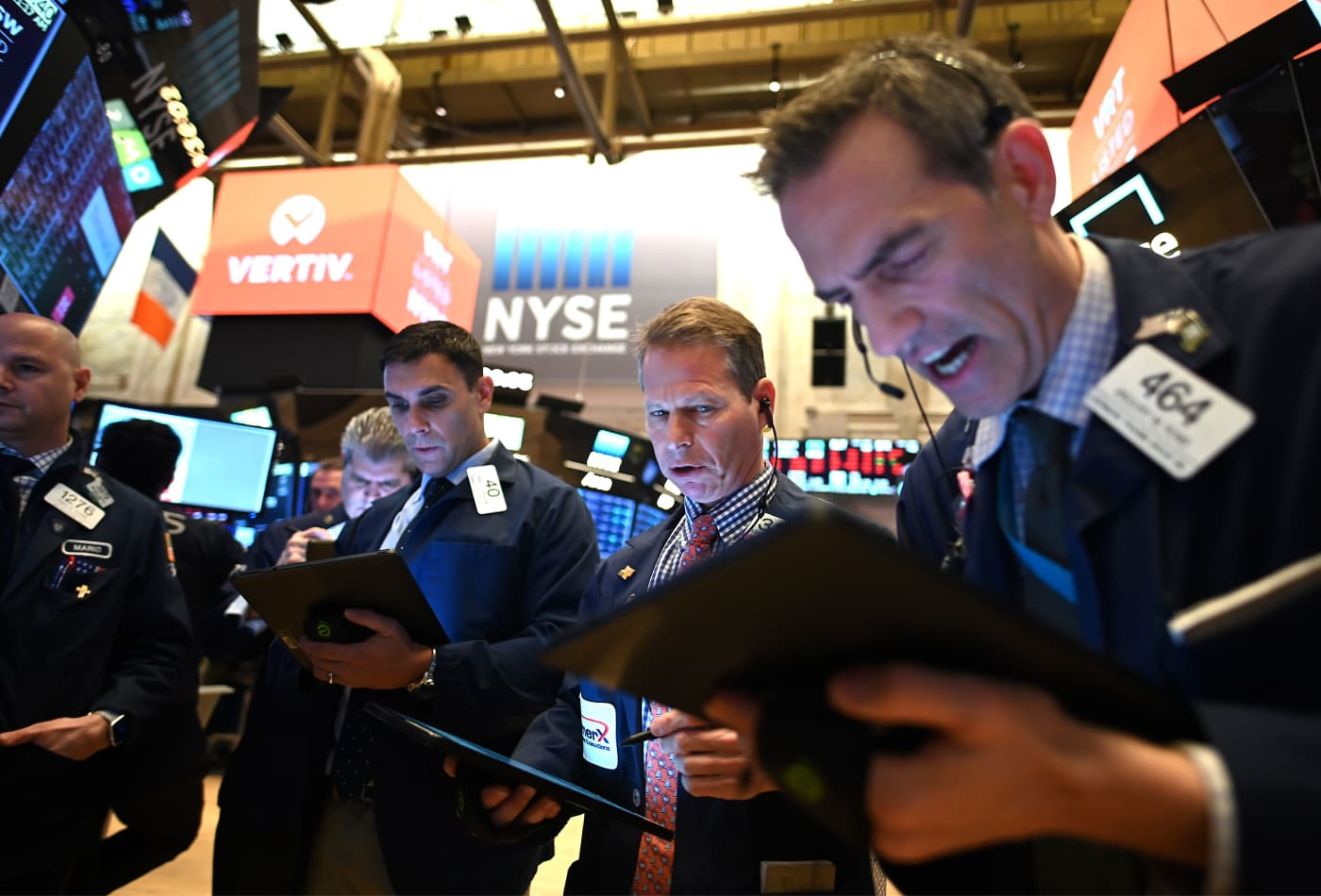 Dow falls 350 points Friday to cap the worst week for Wall Street since the financial crisis