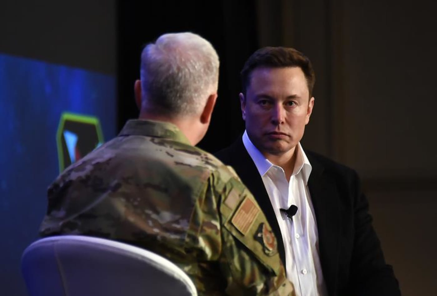 Elon Musk tells a room full of Air Force pilots: 'The fighter jet era has passed'