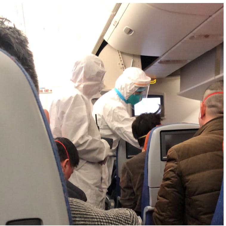 'This truly is a nightmare': How one businesswoman's flight to China ended in coronavirus quarantine