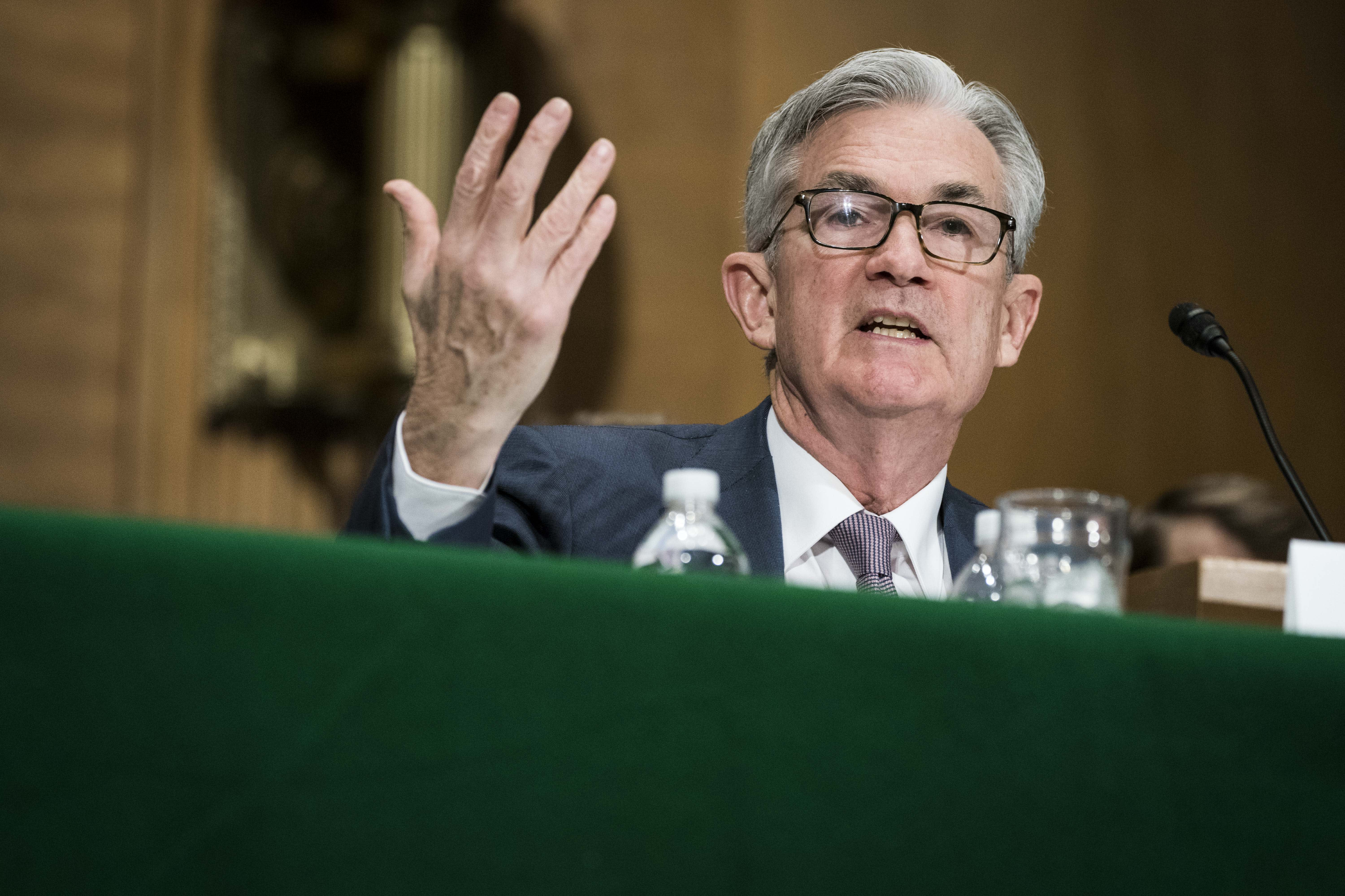 Powell warns of 'significant uncertainty' about the recovery and says small businesses are at risk