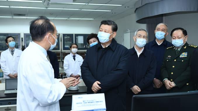 GP: Coronavirus Xi Jinping