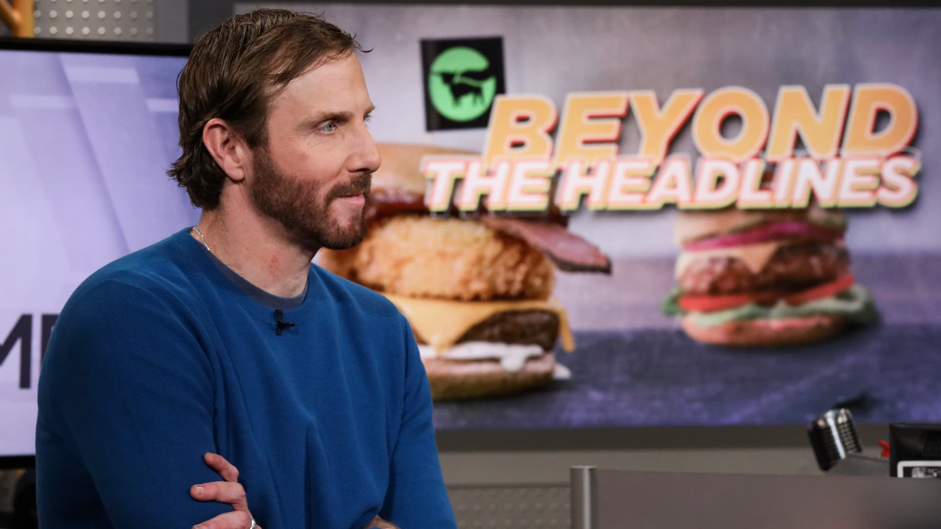 Ethan Brown, founder, president and CEO of Beyond Meat.