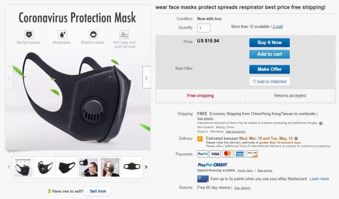 walmart n95 respirator mask