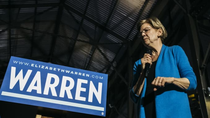 GP: Elizabeth Warren Holds Event On Super Tuesday