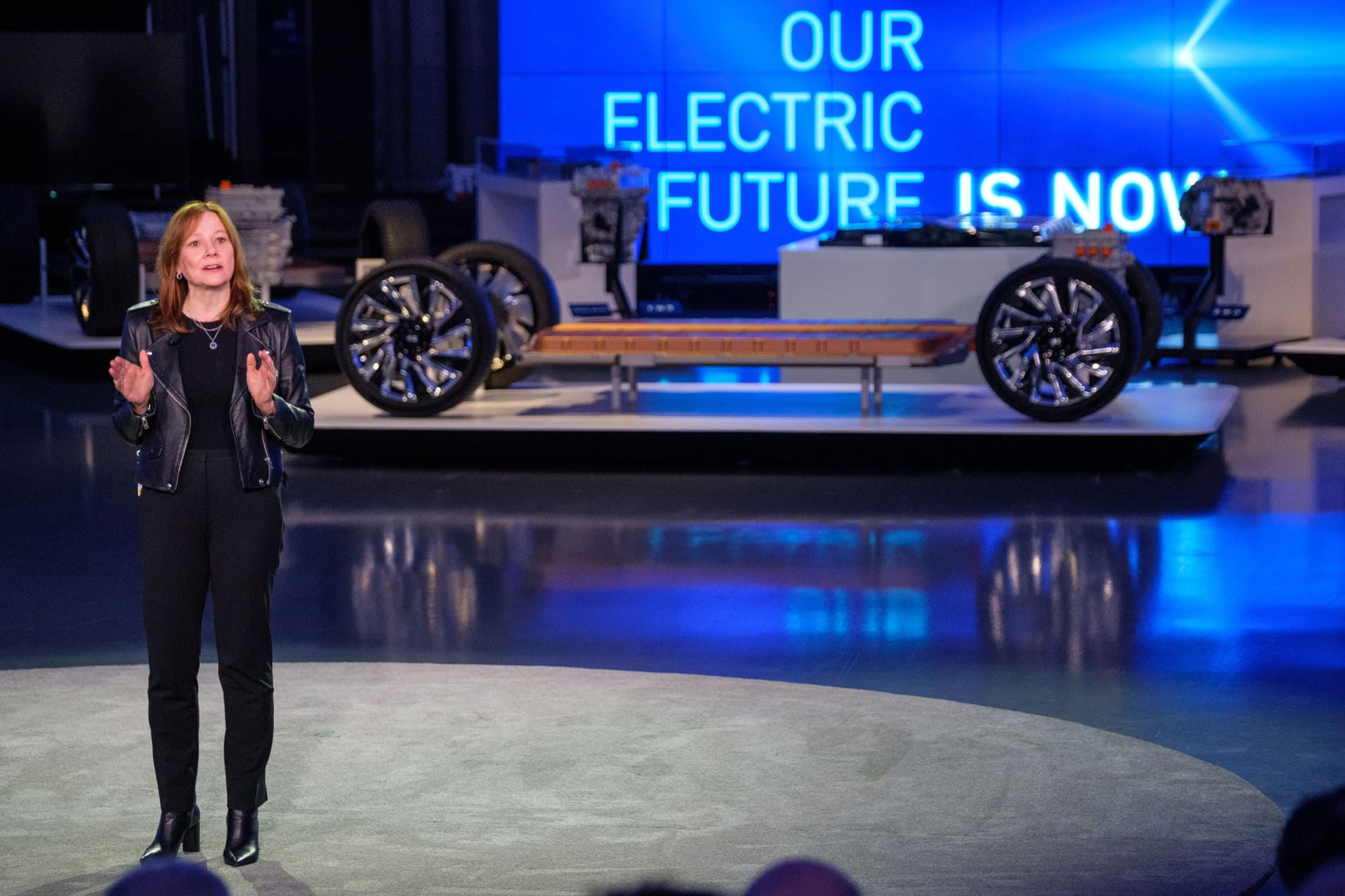 H/O: GM CEO Mary Barra during EV Day