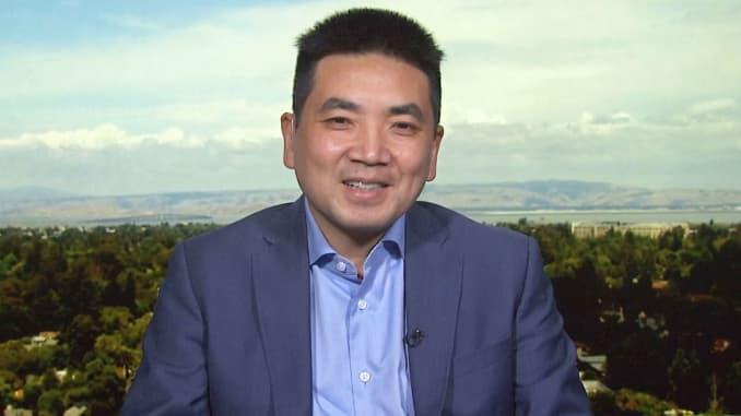 CNBC: Eric Yuan, Zoom Video Communications