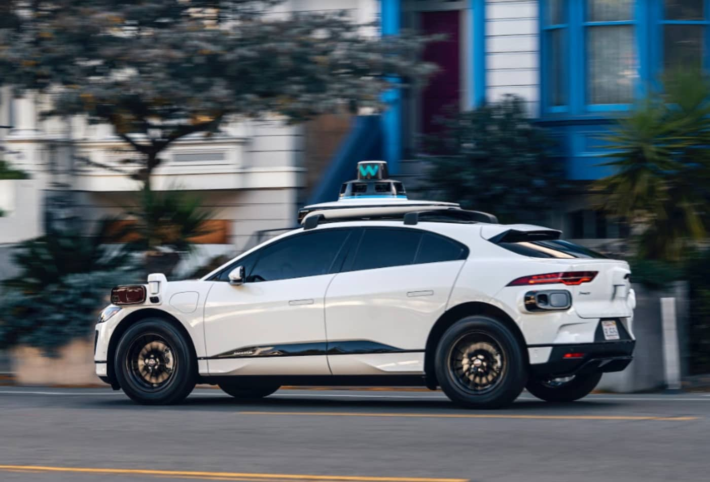 Alphabet's Waymo shows new Jaguar cars on the heels of investment round