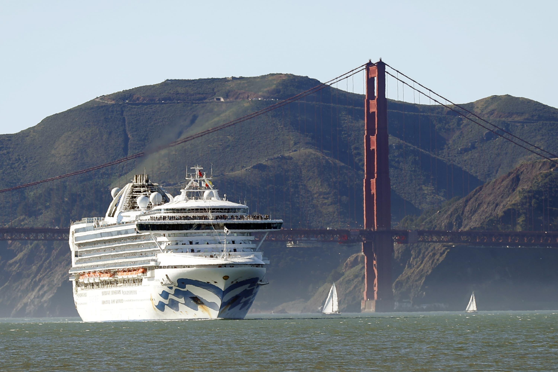 san francisco cruise ship terminal map Virus Hit Cruise Ship Off California S Coast Will Dock In Oakland san francisco cruise ship terminal map