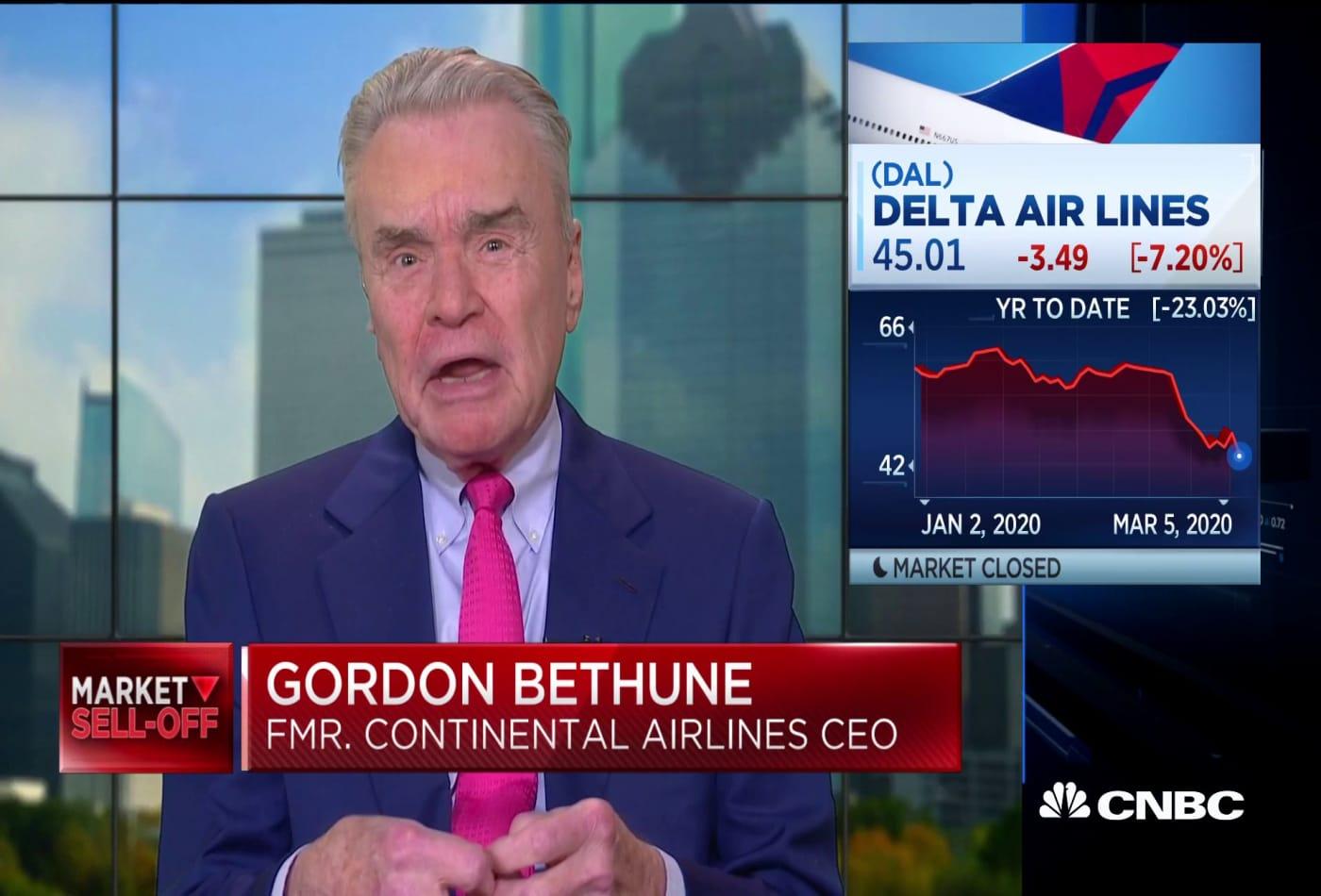 Airline fundamentals good, coronavirus a temporary issue: Bethune