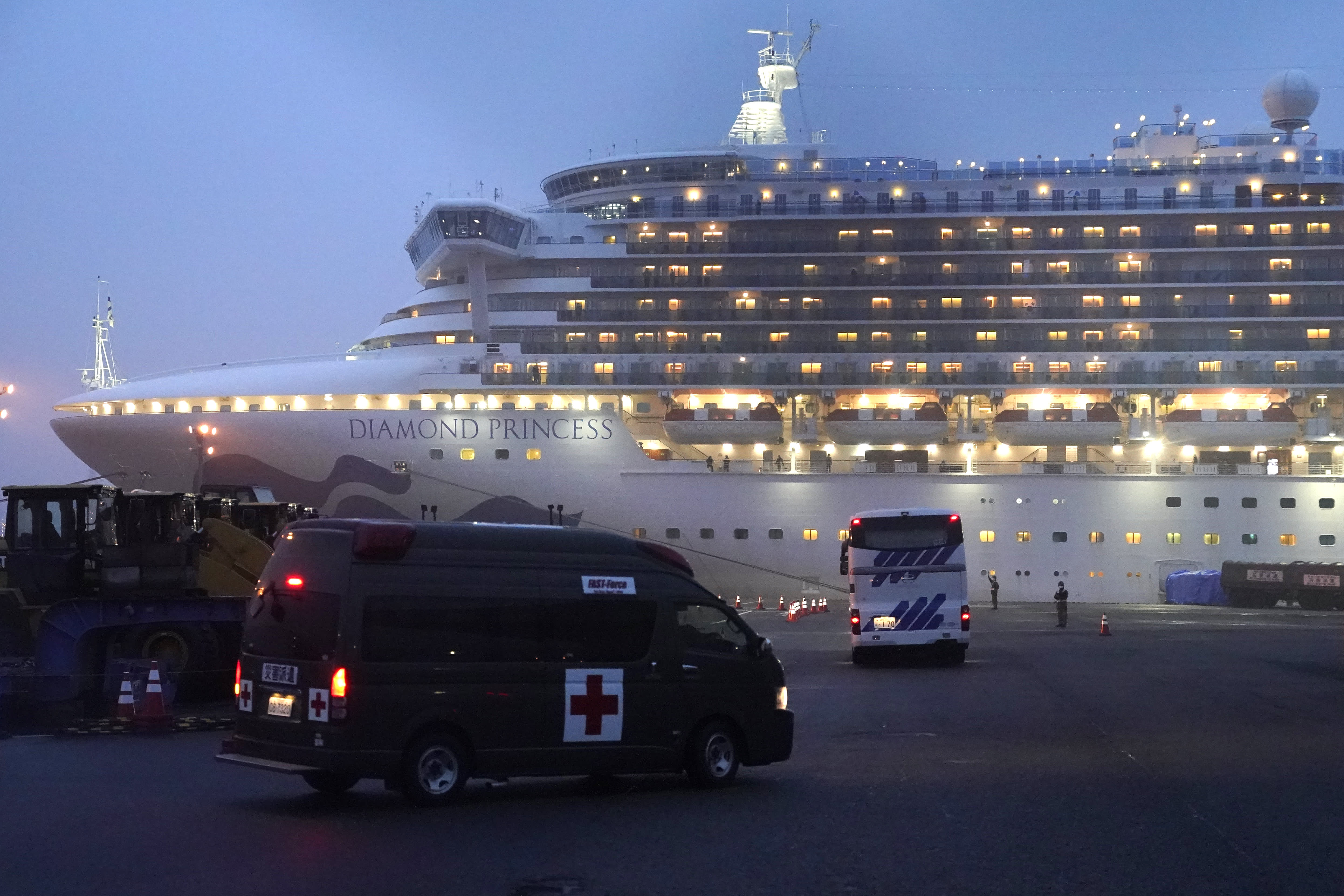 Coronavirus sent this couple into a 27-day quarantine after a cruise