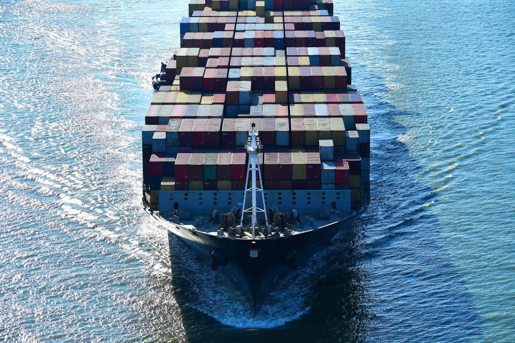 US international trade deficit January 2020