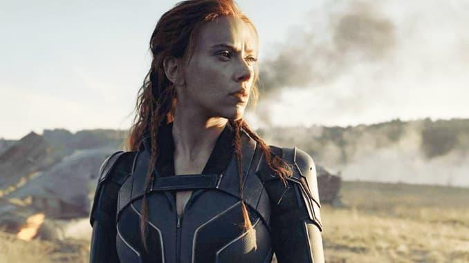 "Scarlett Johansson berperan sebagai Natasha Romanoff, AKA Black Widow, dalam film Marvel ""Black Widow."""