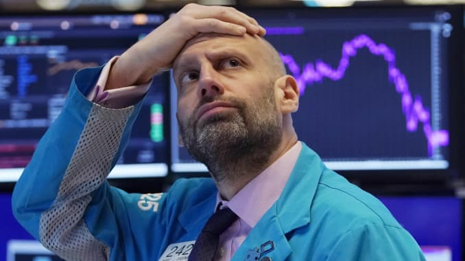 GP: NYSE traders Market plunge