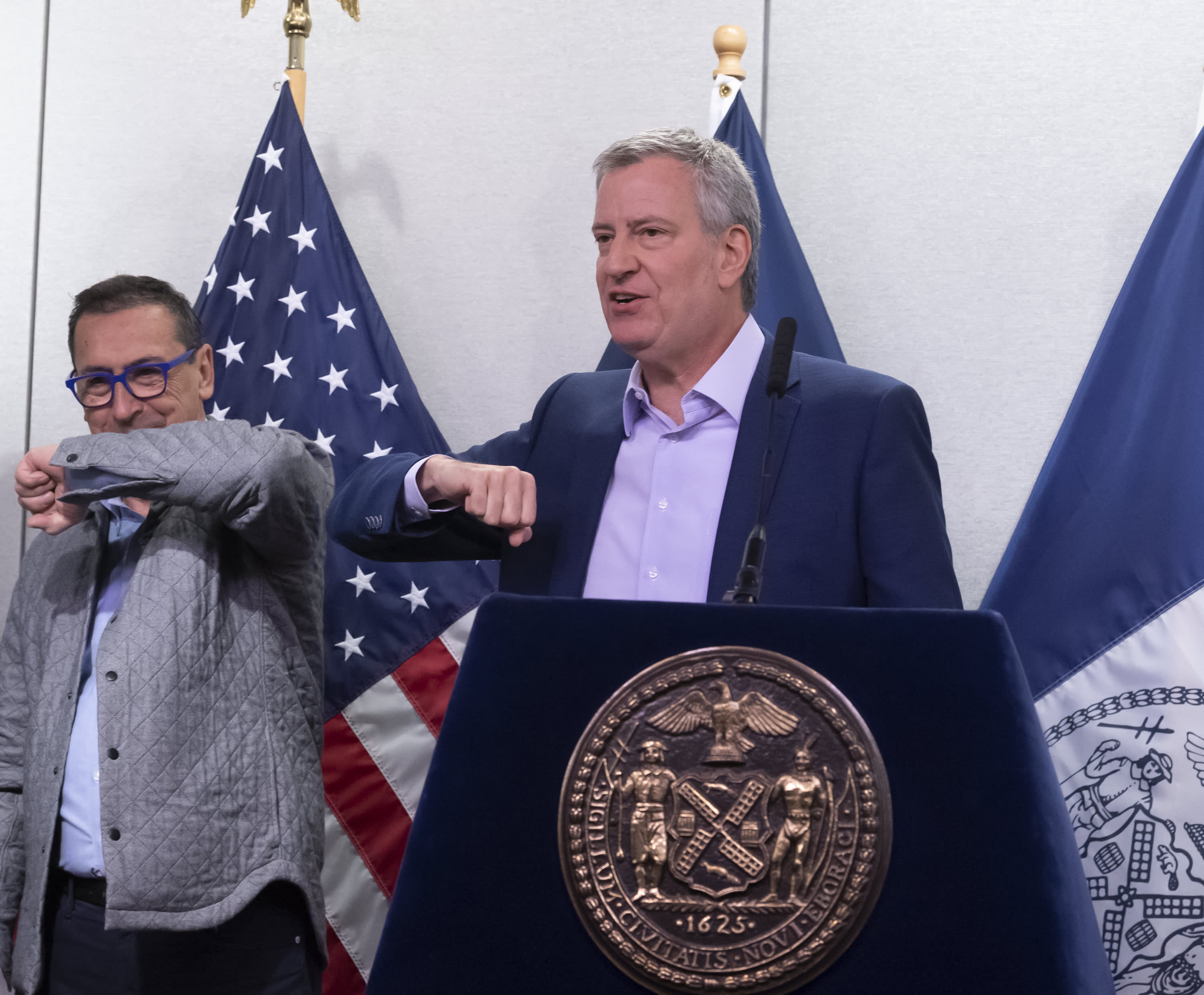 NYC Mayor urges New Yorkers to work from home, get mental health counseling