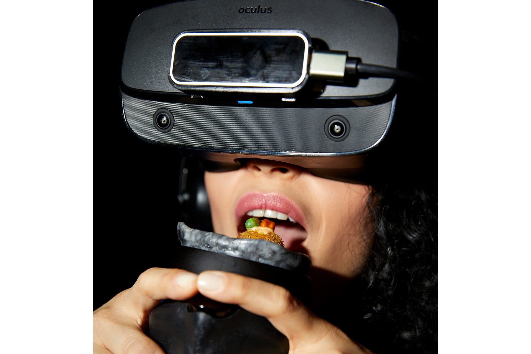 I ate a meal in virtual reality. Here's what it tasted like