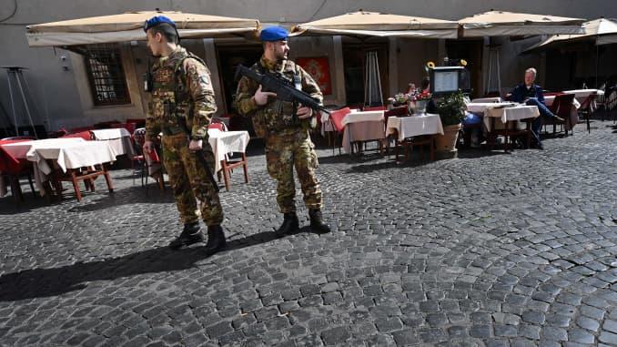 GP: Coronavirus: Rome quarantined ITALY-HEALTH-VIRUS