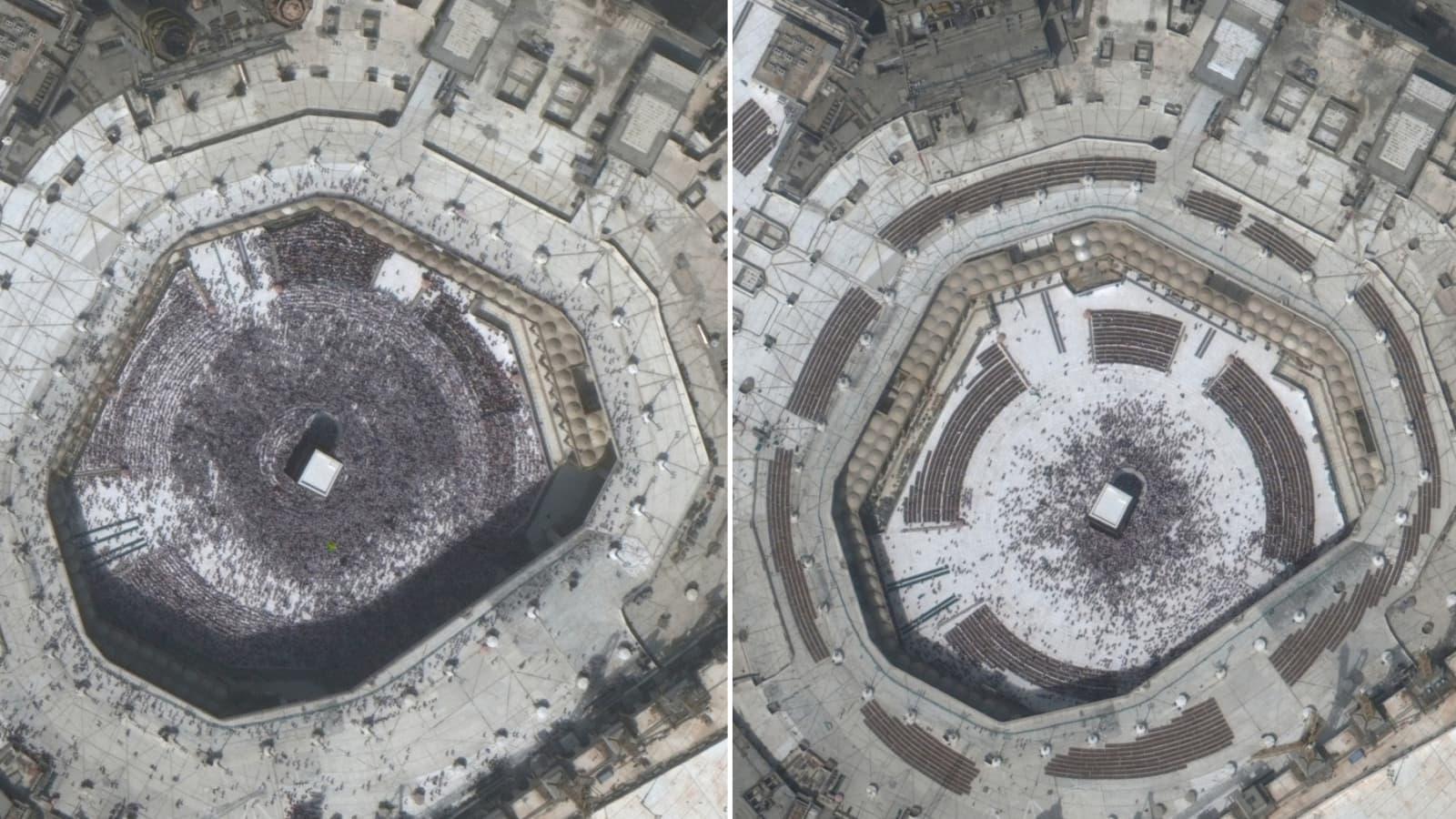 Satellite Photos Sites Around The World Deserted Due To Coronavirus