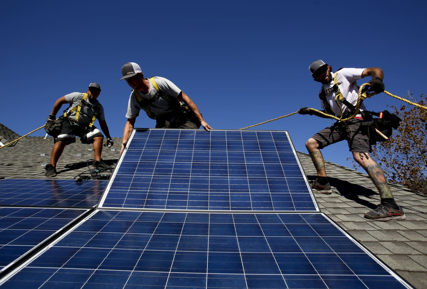 Solar ETF soars as Biden leads in polls. Other groups that could benefit from a Democratic win