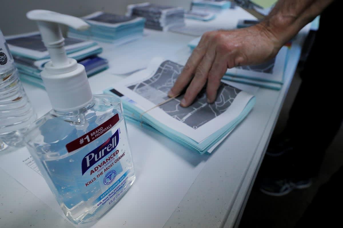 Coronavirus Panic Has People Stealing Hand Sanitizer From Doctors