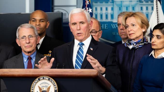 White House task force recommends anti-coronavirus strategies for ...