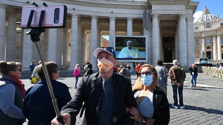 GP: Coronavirus: Italy Vatican