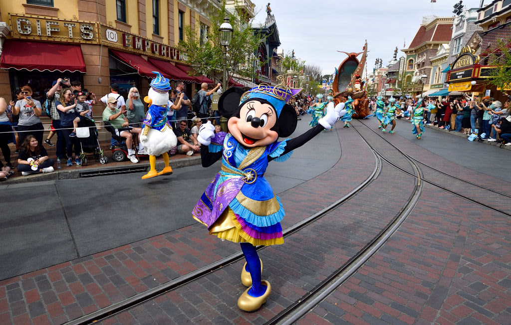 Disney shares pop on promise of California Disneyland reopening - CNBC