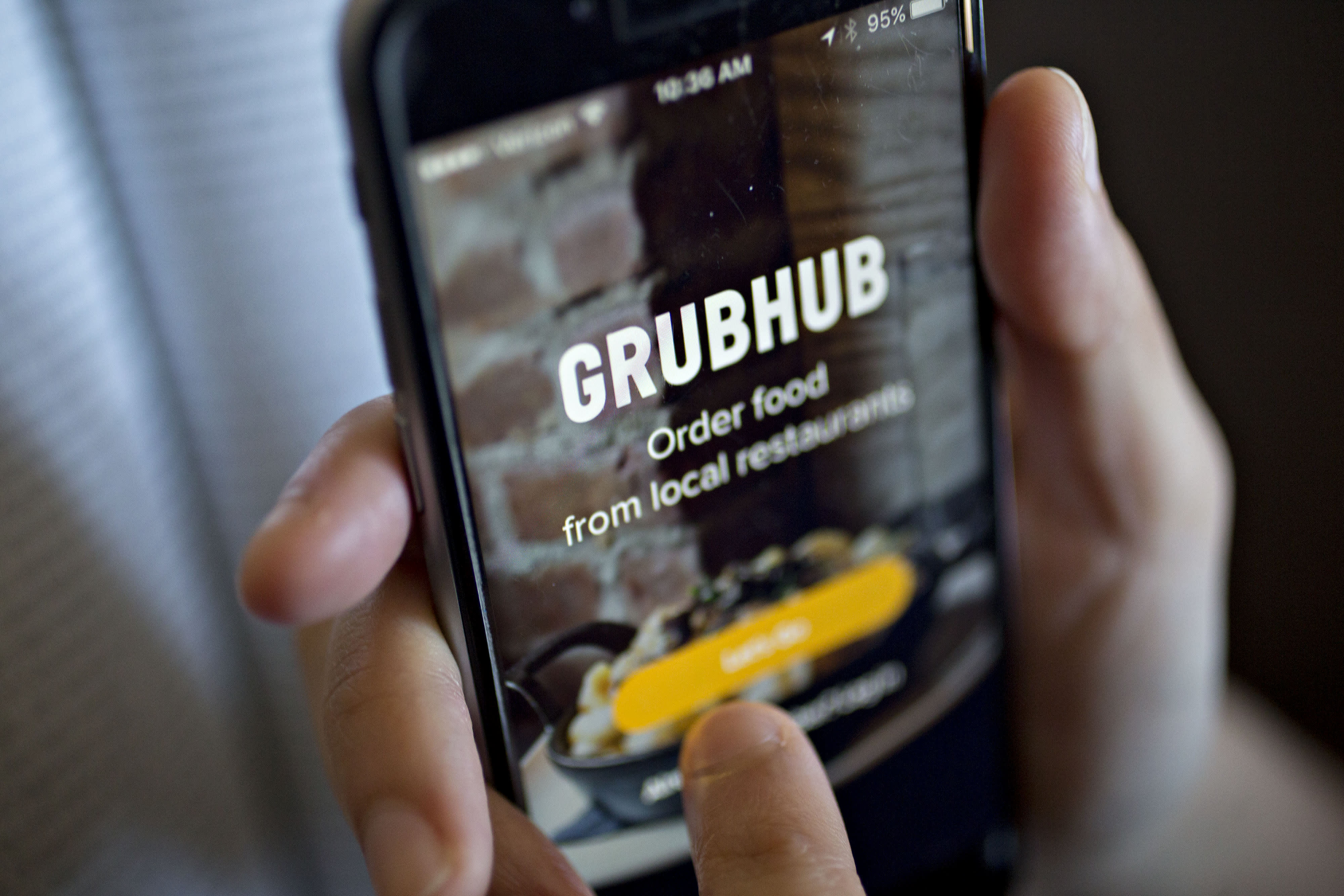 Grubhub is suspending commission fees for independent restaurants
