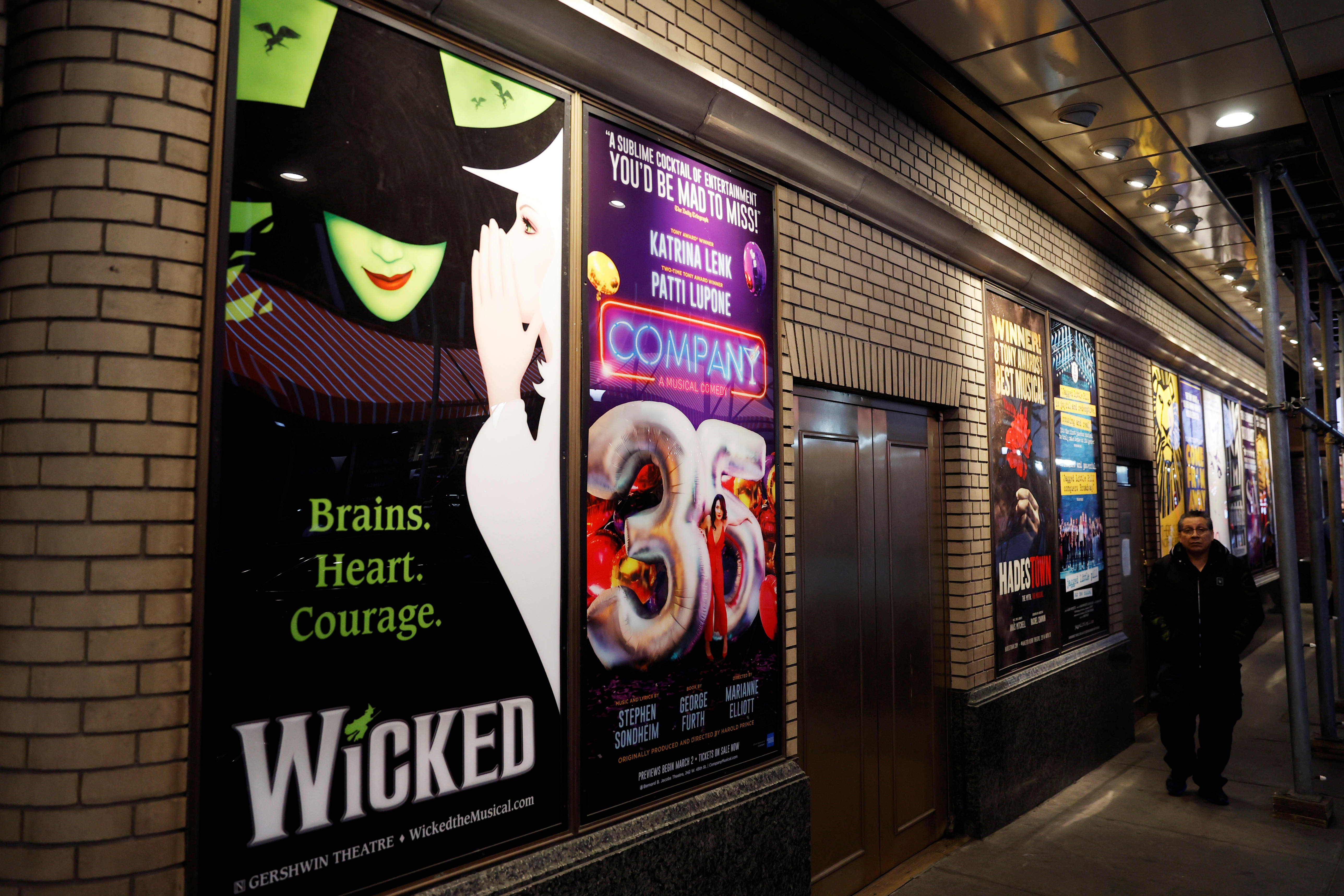 New York City's Broadway to remain dark through the rest of 2020