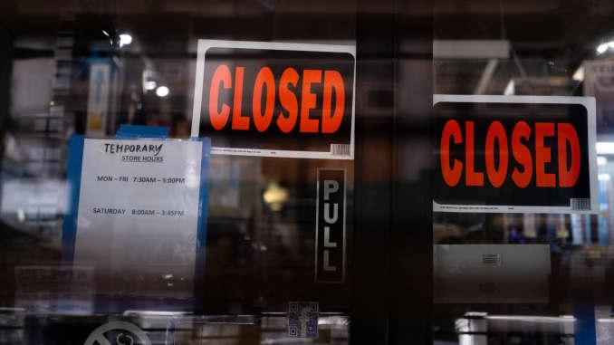 RT: coronavirus store closures