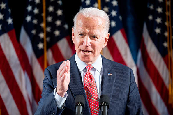 Economic recovery from coronavirus is a 'long way away,' Joe Biden says