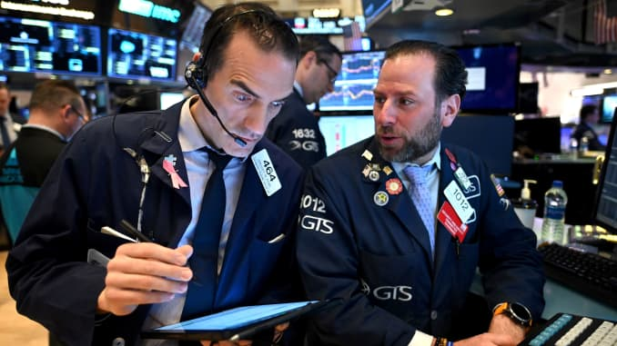 GP: NYSE stocks plunge coronavirus