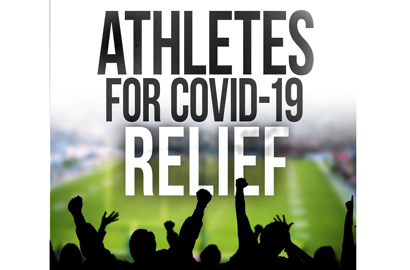 Athletes team up to raise money for people affected by coronavirus
