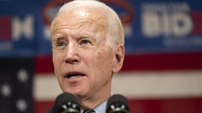 Joe Biden Endorsed By United Auto Workers In 2020 Presidential Campaign