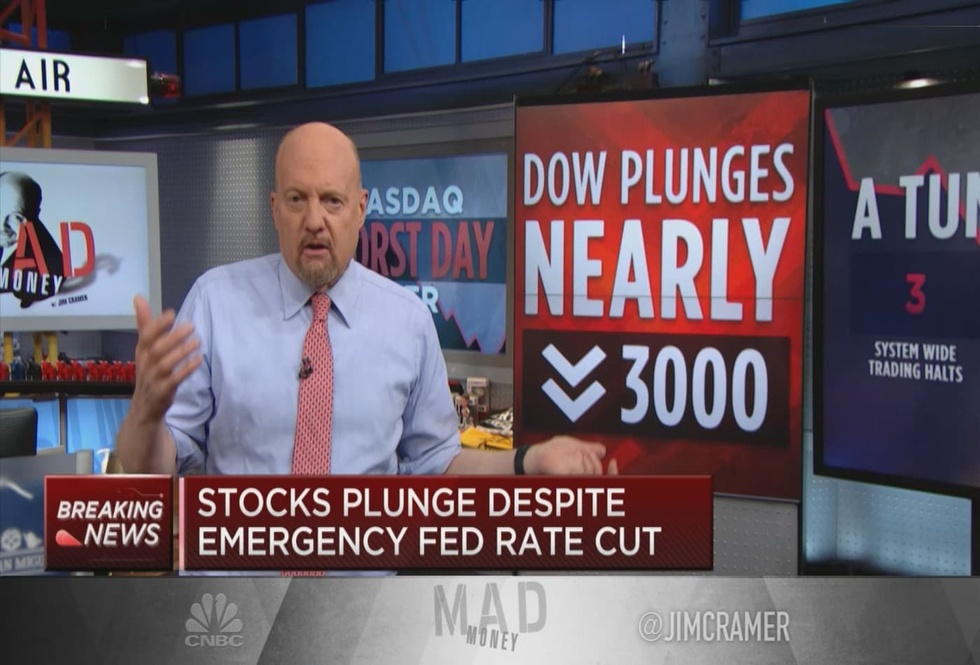 Jim Cramer says forget index funds, buy shares in companies 'we can't live without'