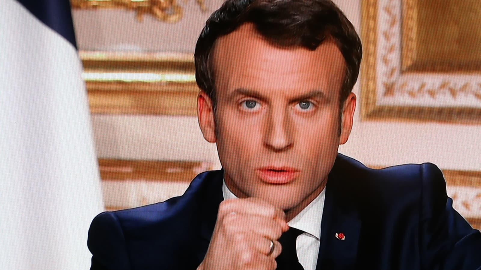 Coronavirus France S President Macron Warns We Are At War