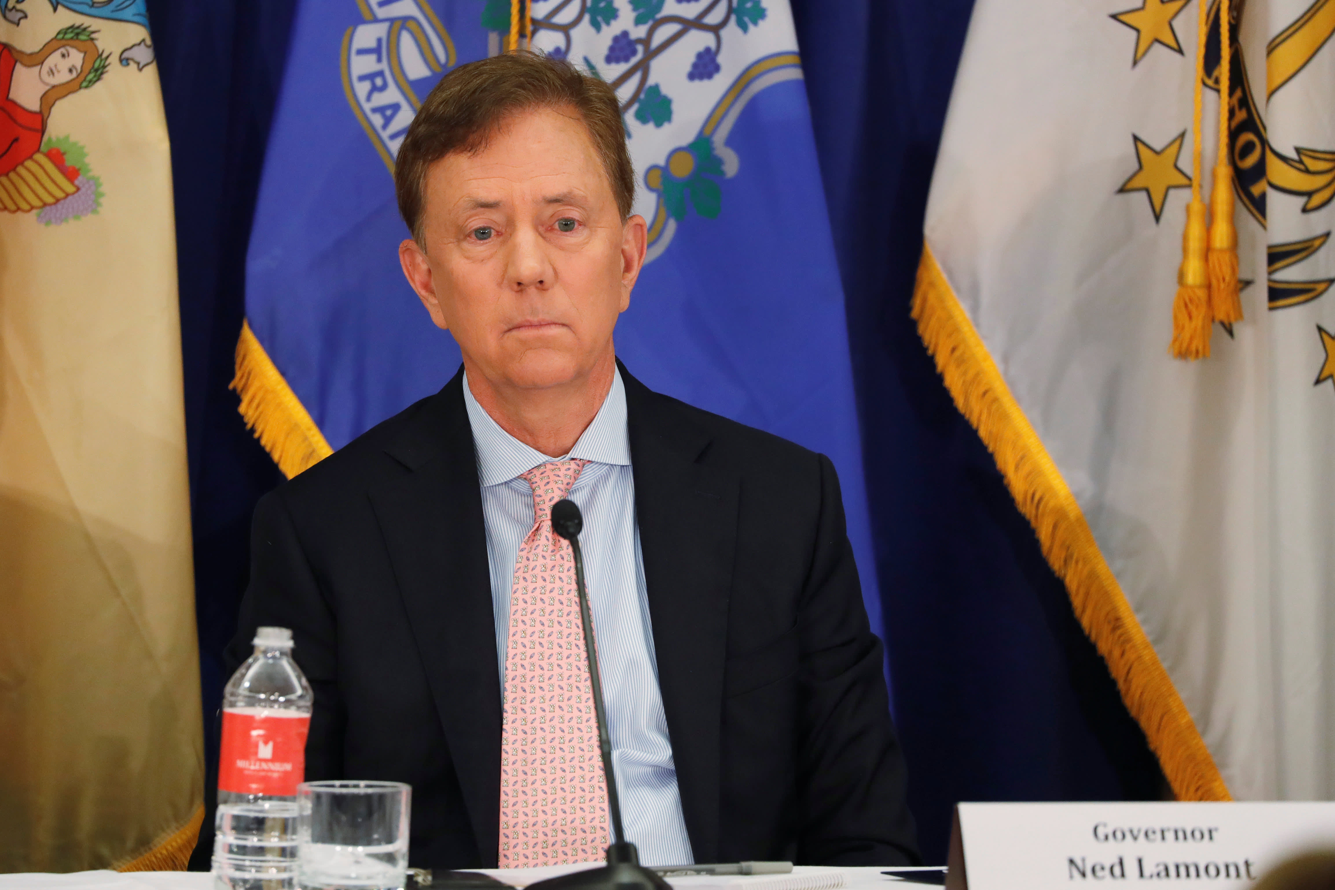 Connecticut Gov. Ned Lamont on beds, ventilators for coronavirus
