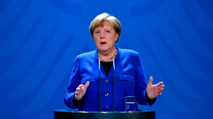 GP: Angela Merkel coronavirus presser 200317